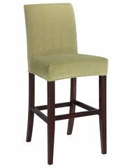 "Basil Green Velvet ""Slip Over"" for Counter Stool or Bar Stool - Powell Furniture - 742-259Z"