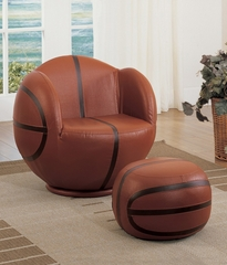 Basketball Chair and Ottoman Set - All Star - 05527