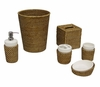 Bathroom Accessory Set 6pc - Hana - 99012