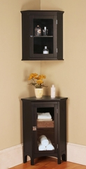 Bathroom Furniture Set 1 in Dark Espresso - Madison Avenue - MAVE-SET-1