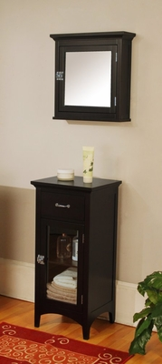 Bathroom Furniture Set 2 in Dark Espresso - Madison Avenue - MAVE-SET-2