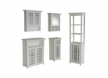 Bathroom Furniture Set in White - Neal - NEAL-SET-1