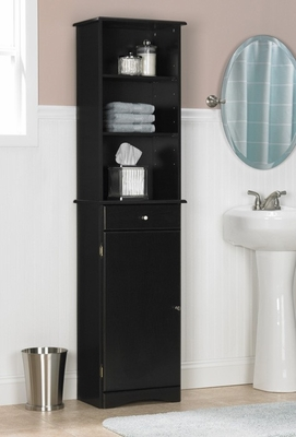 Bathroom Storage Cabinet in Espresso - Ameriwood Industries - 5303045