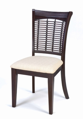 Bayberry Wicker Chair (Set of 2) in Dark Cherry - Hillsdale - 4783-802