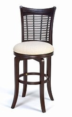 Bayberry Wicker Swivel Bar Stool - Hillsdale - 4783-830