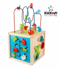 Bead Maze Cube in Multi-Color - KidKraft Furniture - 63243