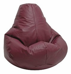 Bean Bag Chair Adult Extra Large in Burgundy - Lifestyle - 30-1051-322