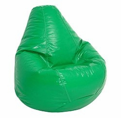 Bean Bag Chair Adult Extra Large in Green - Wetlook - 30-1051-118
