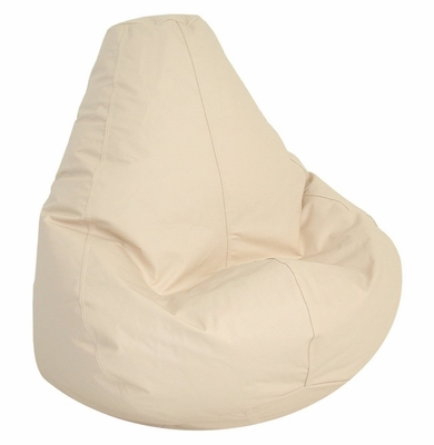 Bean Bag Chair Adult Extra Large in Ivory - Lifestyle - 30-1051-309