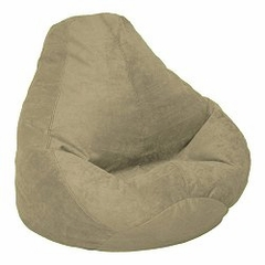 Bean Bag Chair Adult Extra Large in Tarragon Soft Velvet LUXE - 30-1051-1103