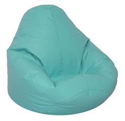 Bean Bag Chair Adult in Aqua - Lifestyle - 30-1041-329