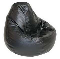 Bean Bag Chair Adult in Ebony - Lifestyle - 30-1041-301