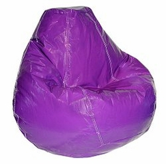 Bean Bag Chair Adult in Grape - Wetlook - 30-1041-127