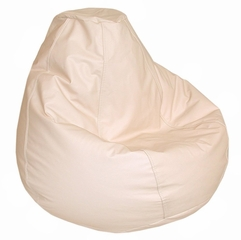Bean Bag Chair Adult in Ivory - Lifestyle - 30-1041-309