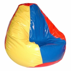 Bean Bag Chair Adult in Multi - Wetlook - 30-1041-997