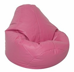 Bean Bag Chair Adult in Raspberry - Lifestyle - 30-1041-330