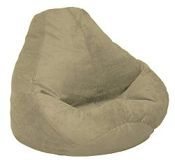 Bean Bag Chair Adult in Tarragon Soft Velvet LUXE - 30-1041-1103
