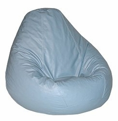 Bean Bag Chair Adult in Wedgewood Blue - Lifestyle - 30-1041-319
