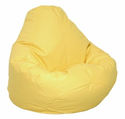 Bean Bag Chair Adult in Yellow - Lifestyle - 30-1041-328