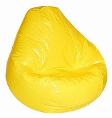 Bean Bag Chair Adult in Yellow - Wetlook - 30-1041-120
