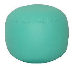 Bean Bag Chair Bigfoot Footstool in Aqua - Lifestyle - 30-9023-329