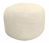 Bean Bag Chair Bigfoot Footstool in Buckwheat Soft Velvet LUXE - 30-9023-1102