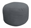 Bean Bag Chair Bigfoot Footstool in Charcoal Soft Suede LUXE - 30-9023-1003