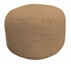 Bean Bag Chair Bigfoot Footstool in Coffee Soft Velvet LUXE - 30-9023-1101