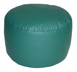 Bean Bag Chair Bigfoot Footstool in Emerald Green - Lifestyle - 30-9023-320
