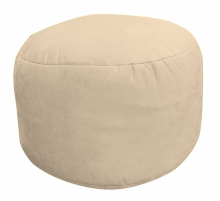 Bean Bag Chair Bigfoot Footstool in Fawn Soft Suede LUXE - 30-9023-1001