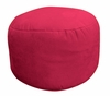 Bean Bag Chair Bigfoot Footstool in Lipstick Soft Suede LUXE - 30-9023-461
