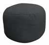 Bean Bag Chair Bigfoot Footstool in Onyx Soft Suede LUXE - 30-9023-467