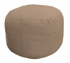 Bean Bag Chair Bigfoot Footstool in Peat Soft Suede LUXE - 30-9023-167