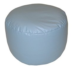 Bean Bag Chair Bigfoot Footstool in Wedgewood Blue - Lifestyle - 30-9023-319