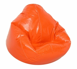 Bean Bag Chair Kids Large in Blaze Orange - Wetlook - 30-1021-133
