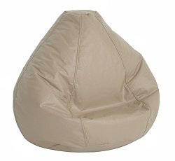 Bean Bag Chair Kids Large in Cobblestone Vinyl - Lifestyle - 30-1021-326