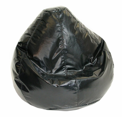 Bean Bag Chair Kids Large in Jet Black - Wetlook - 30-1021-119