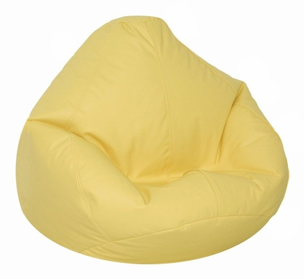 Bean Bag Chair Kids Large in Yellow Vinyl - Lifestyle - 30-1021-328