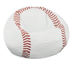 Bean Bag Chair Kids Sports Baseball - Child Plush - 30-3001-854