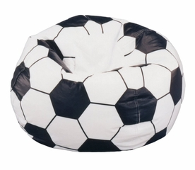 Bean Bag Chair Kids Sports Soccerball - Child Plush - 30-3001-852