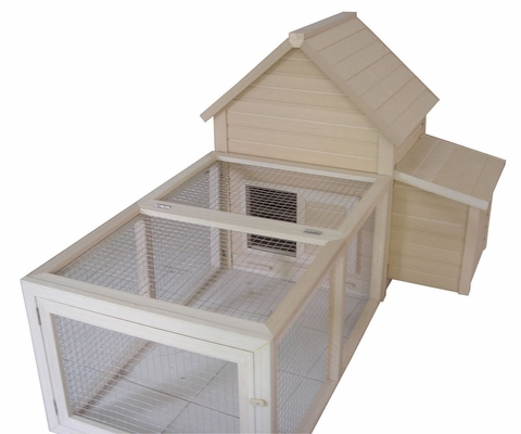 Bedford Barn and Pen Chicken Coop in Natural Cedar - NewAgeGarden - ECOCH101