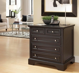 Bedford Black Expandable Pull Out Desk - Home Styles - HS-5531-93