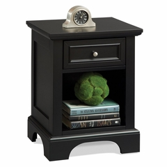 Bedford Night Stand in Ebony - Home Styles - 5531-42