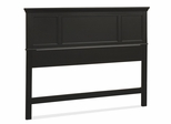 Bedford Queen Headboard in Ebony - Home Styles - 5531-501