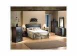 Bedroom Furniture Set 1 in Chocolate - South Shore Furniture - 3159-BSET-1