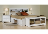 Bedroom Furniture Set 1 in White - Monterey Collection - Prepac Furniture - MTR-BSET-1