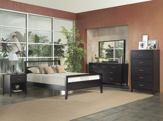Bedroom Furniture Set 1 - Nevis Espresso - Modus Furniture - NVE-BSET-1
