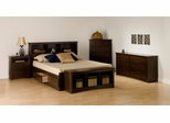 Bedroom Furniture Set 2 in Espresso - Fremont - Prepac Furniture - FRE-BSET-2