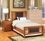 Bedroom Furniture Set 2 in Light Oak - Braywick