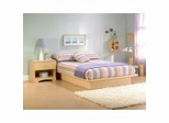 Bedroom Furniture Set in Natural Maple - South Shore Furniture - 3013-BSET-1